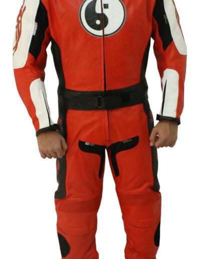 Men's Racing Motorbike Leather Suit