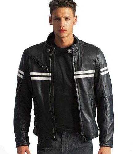 Milano Motorbike Leather Jacket