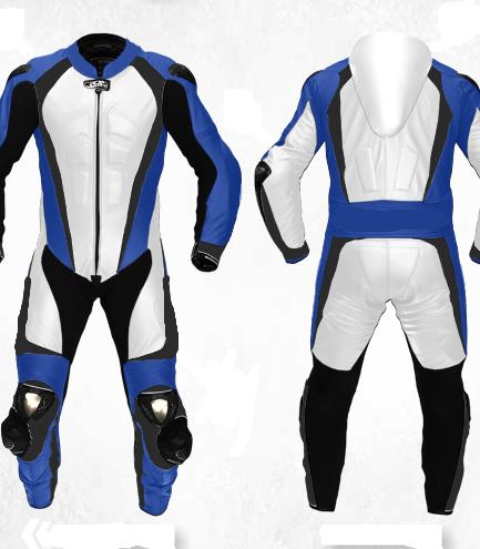 Motorbike Sport Racing Leather Suit