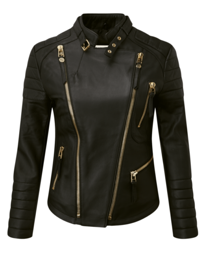Naida Ladies Motorbike Leather Jacket