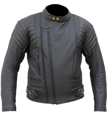 Neutron Motorbike Leather Jacket MJM935
