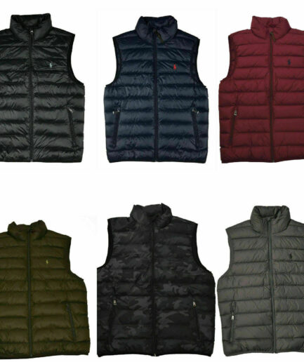 Polo Ralph Lauren Men's Down Packable Puffer Vest Jacket