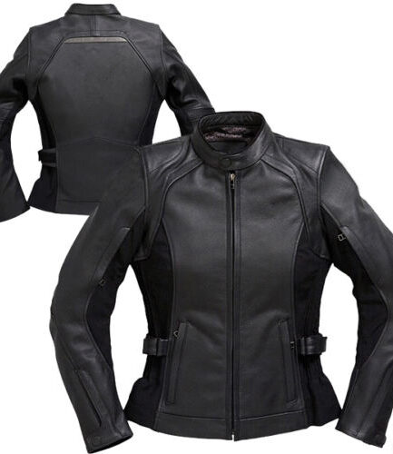 Pushka Ladies Motorbike Leather Jacket