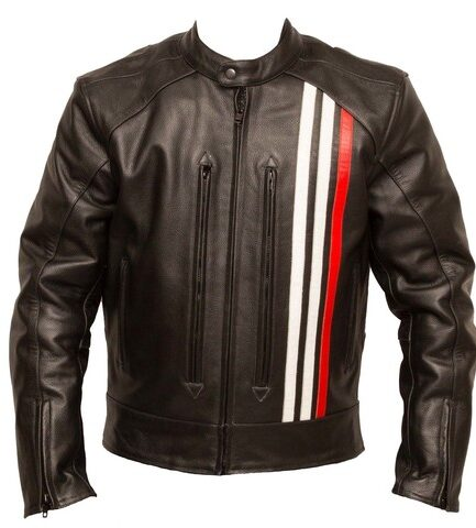 Raphael Motorbike Leather Jacket
