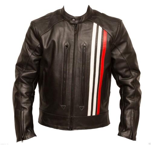 Raphael Motorbike Leather Jacket