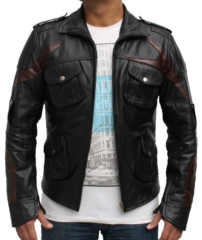 Rebel Motorbike Leather Jacket