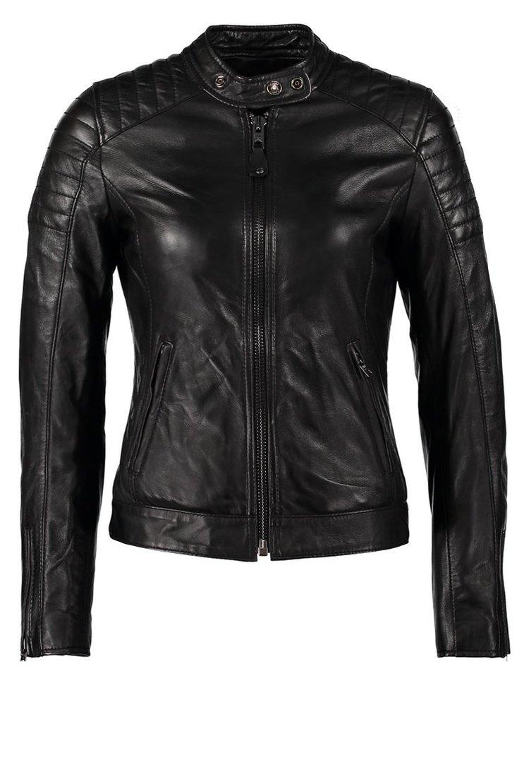 Rotana Ladies Motorbike Leather Jacket