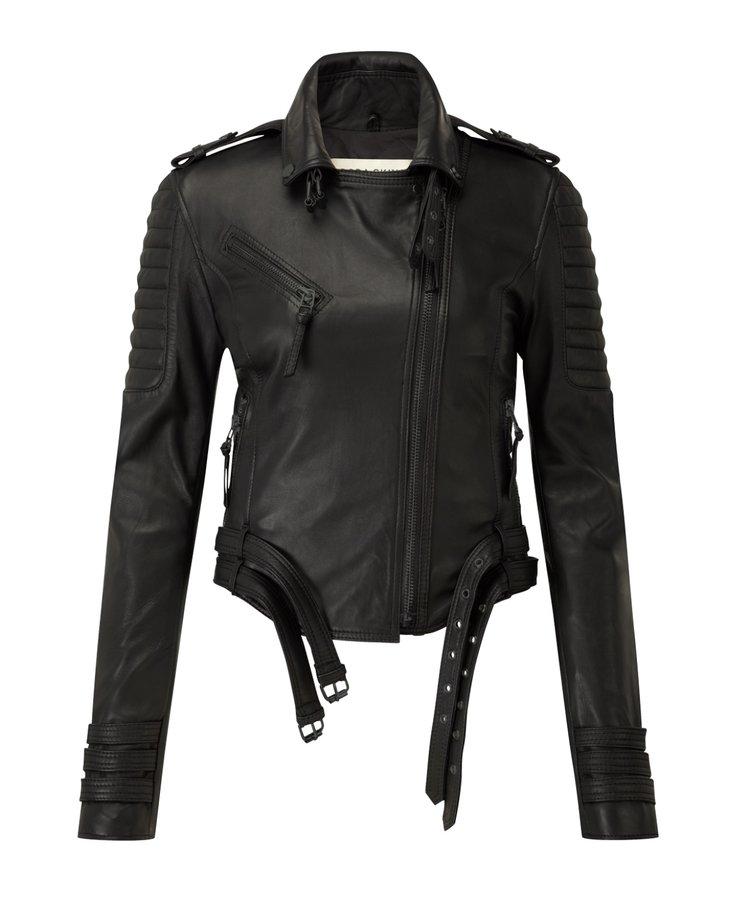 Rotterdam Ladies Motorbike Leather Jacket