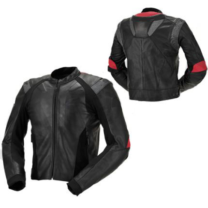 Women Motorbike Racing Leather Jacket
