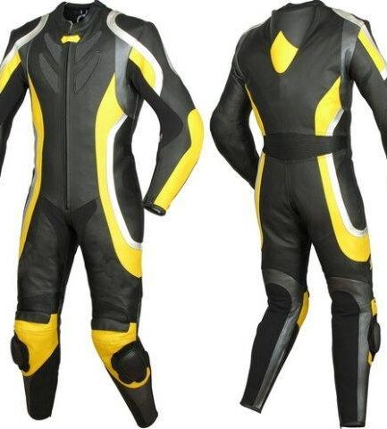 Space Rider Motorbike Leather Suit