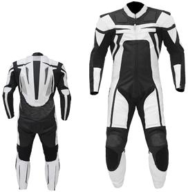 Space X Motorbike Leather Suit