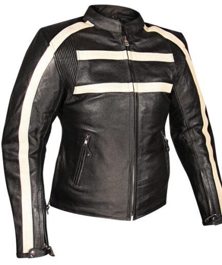 Vintigo Ladies Motorbike Leather Jacket