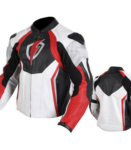 Volt Motorbike Leather Jacket