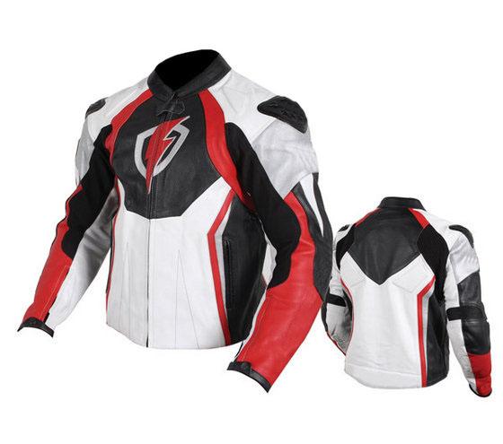 Volt Motorbike Leather Jacket