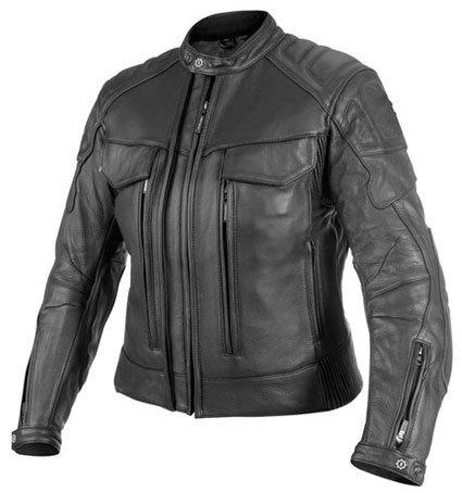 Women Motorbike Leather Jacket