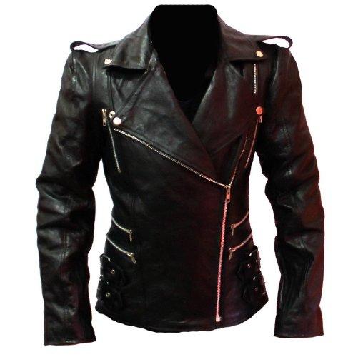 Women Racing Motorbike Leather Jacket
