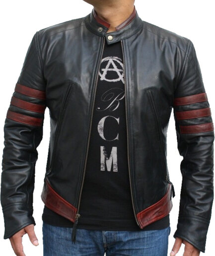 X-Men Reloaded Motorbike Leather Jacket