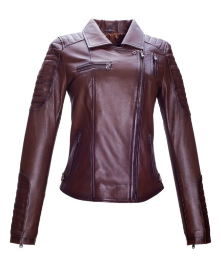 Yarra Ladies Motorbike Leather Jacket