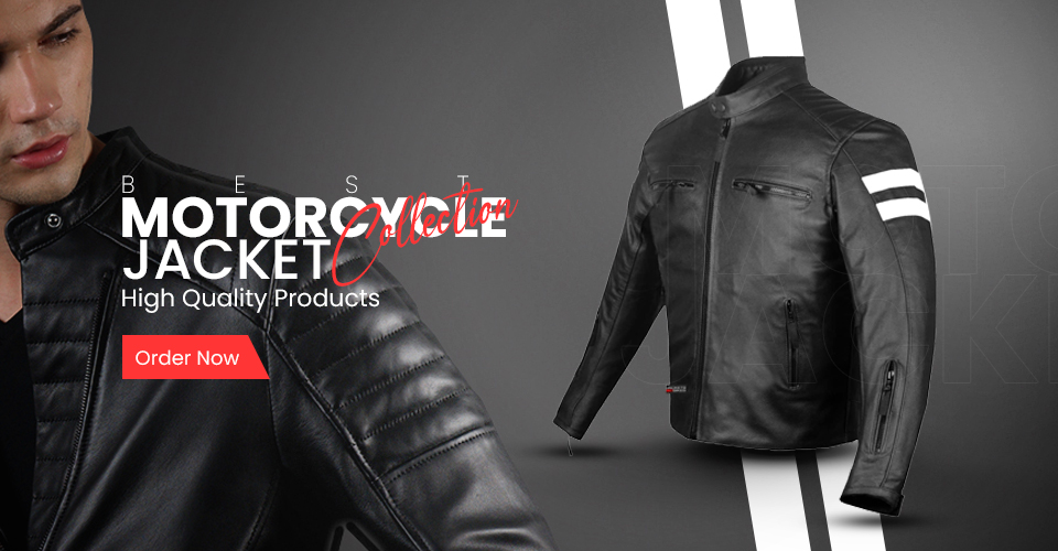 Men Motorcycle Jacket Collection
