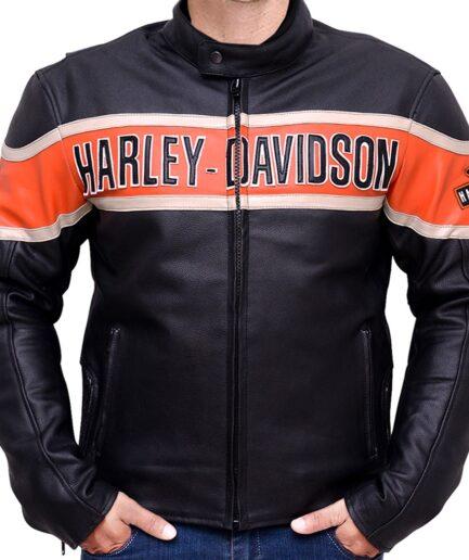 Harley Davidson Victory Lane Motorcycle Jacket