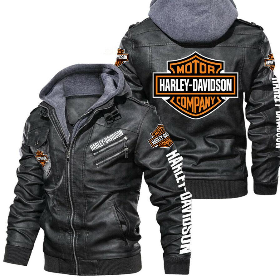 arley-Davidson leather jackets for men
