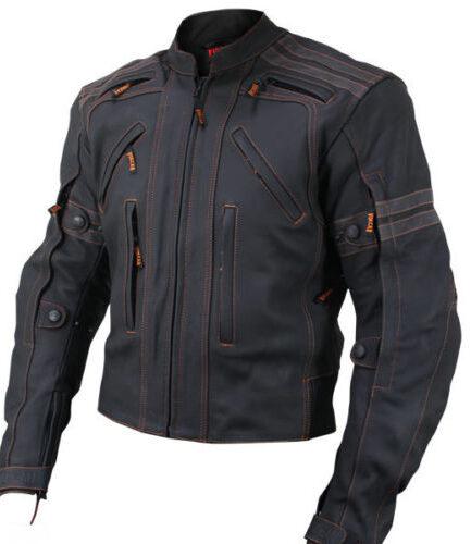 Velocity Motorbike Leather Jacket MJM908