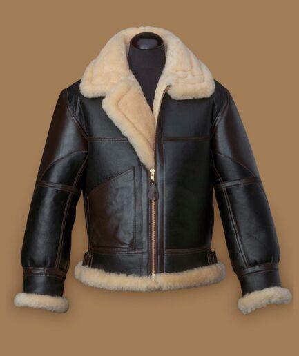 Men Black B3 Flying Jacket