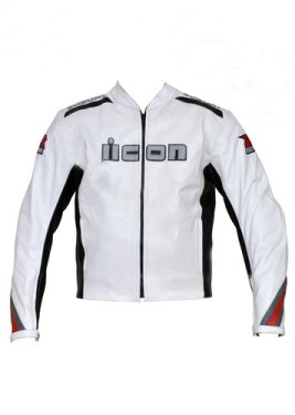 Suzuki GSXR Motorbike Leather Jacket BJM 2716