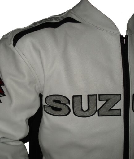 Suzuki Motorbike Leather Jacket BJM 2713