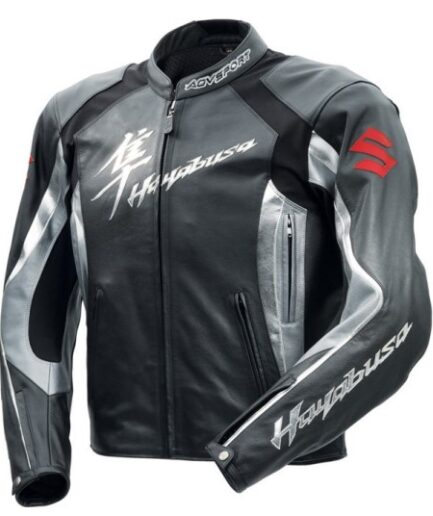 Suzuki Hayabusa Motorbike Leather Jacket