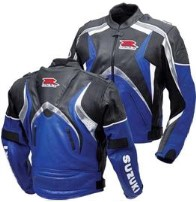 Suzuki Biker Sport Leather Jacket