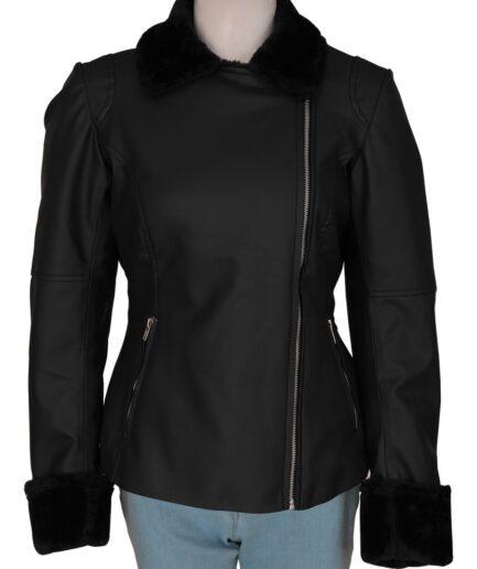 Voguish Women Leather Jacket