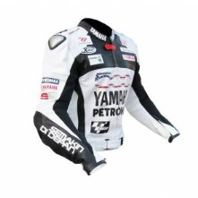Yamaha Mortocycle Men Leather Jacket BMJ2869