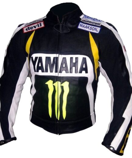 Yamaha Motorbike Leather Jacket BMJ2834