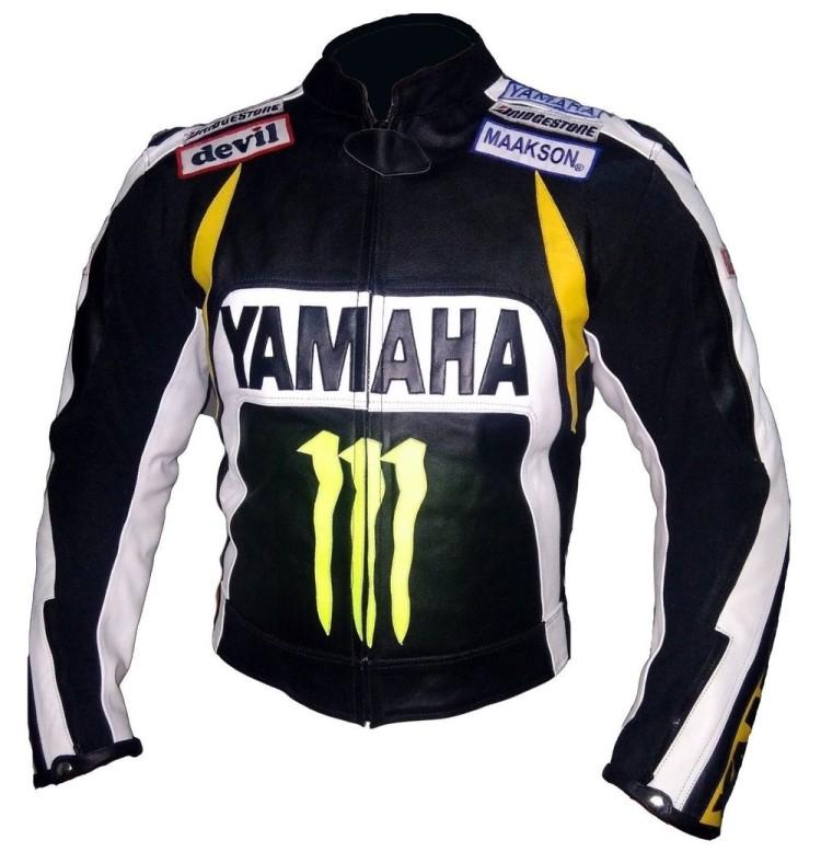 Yamaha Motorbike Leather Jacket BMJ2834