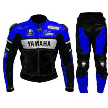 YAMAHA Branded Motorcycle Leather Suit