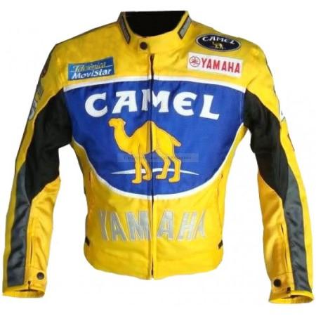 Yamaha Camel Motorbike Leather Jacket