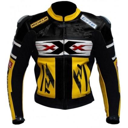 Yamaha Motorbike Leather Jacket BMJ2837
