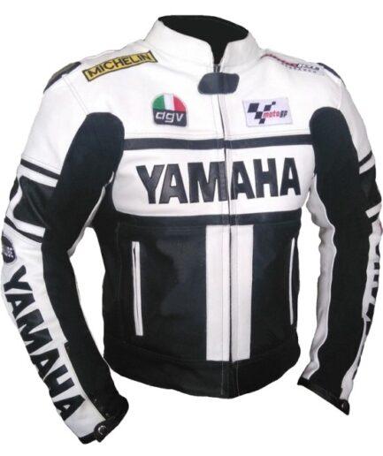 Yamaha Motorcycle Leather Jacket BMJ2867