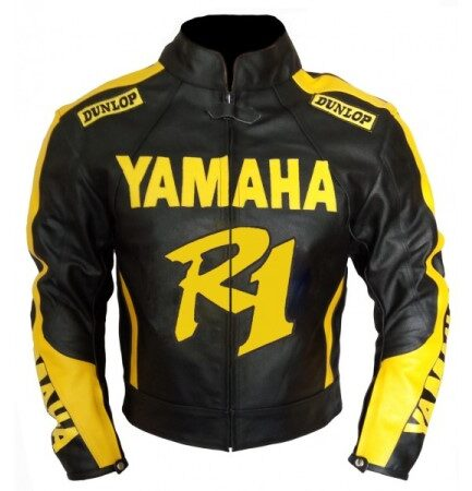 Yamaha R1 Motorbike Leather Jacket BMJ2866