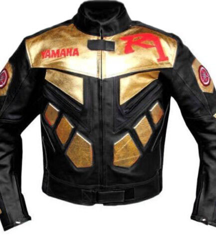 Yamaha R1 BIker Leather Jacket