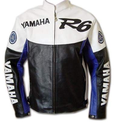 Yamaha R6 Biker Sport Leather Jacket BMJ2824