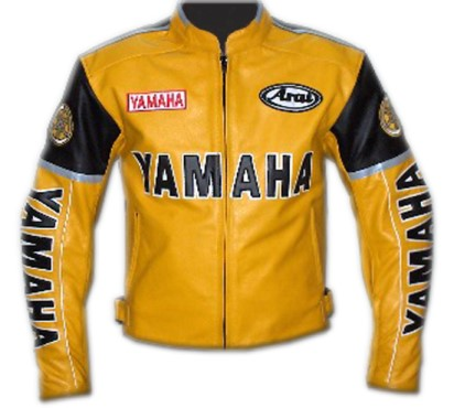 Yamaha Motorbike Leather Jacket BMJ2835